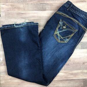 Lane Bryant Slim Flare Jeans